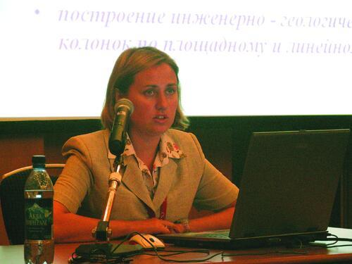Анна Кужелева, главный специалист отдела землеустройства, изысканий и генплана
