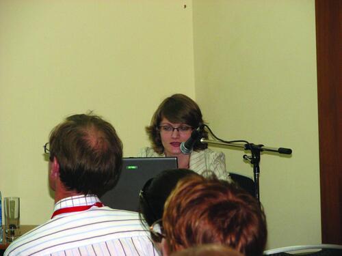 Татьяна Богатова, ведущий специалист отдела землеустройства, изысканий и генплана