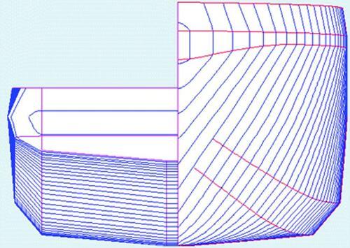 Рис. 1. Каркасная модель