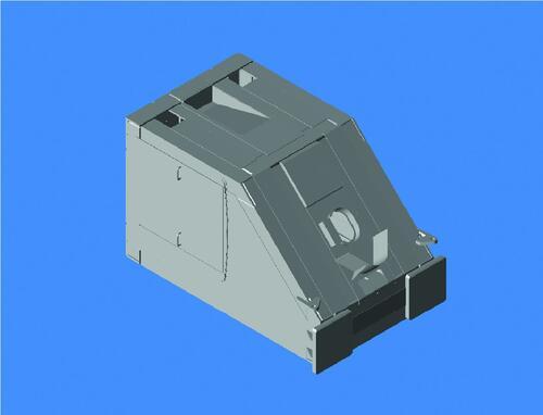 Рис. 3. Детали кабельной мачты «Ангара», выполненной в Autodesk Inventor Professional 11