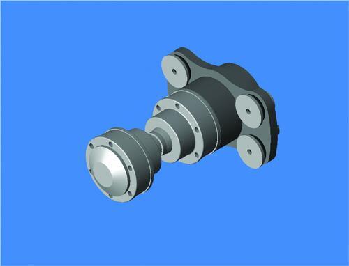 Рис. 4в. Элементы судового насыщения, разработанные в Autodesk Inventor Professional 11