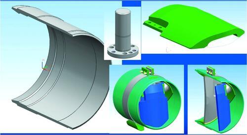 Рис. 3. Проектирование трехмерных моделей, структуры изделия и спецификаций