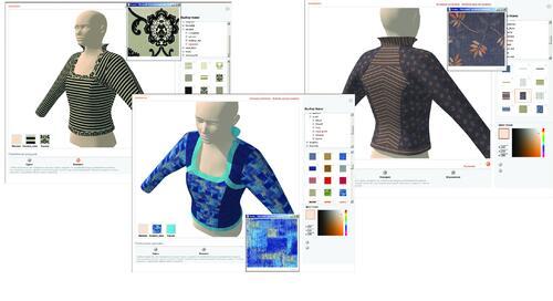 Результат одевания 3D-модели в AC-Showroom