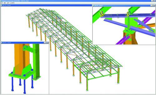 Пилотный проект здания из металлоконструкций, выполненный специалистами ЗАО «Златоустовский завод металлоконструкций»