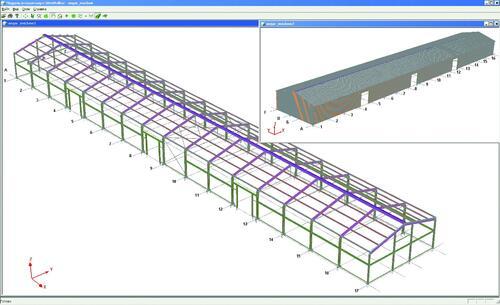 Пилотный проект здания из ЛСТК, выполненный специалистами ЗАО «ИНСИ-Инжиниринг»