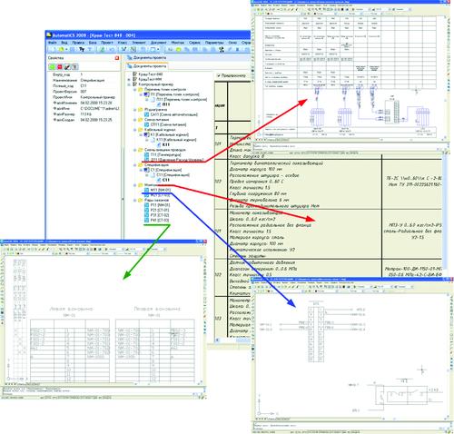 Рис. 10. Структура документов проекта