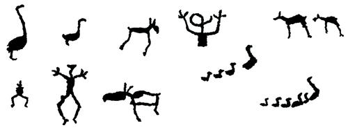 Рис. 1. Древняя модель обстановки