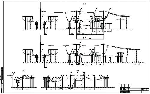 Рис. 14б. Оформленный чертеж с разрезами