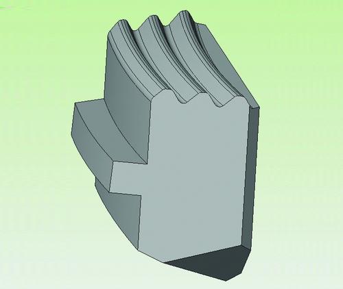 Трехмерная модель детали