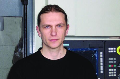 А. Веников, начальник бюро САПР и УЧПУ