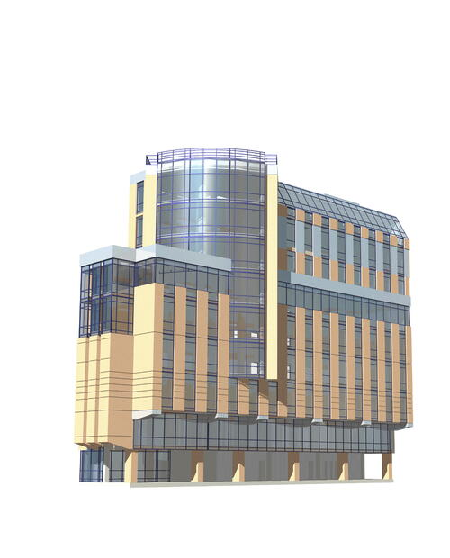 Торгово-офисный  центр  на  Малом проспекте Васильевского острова