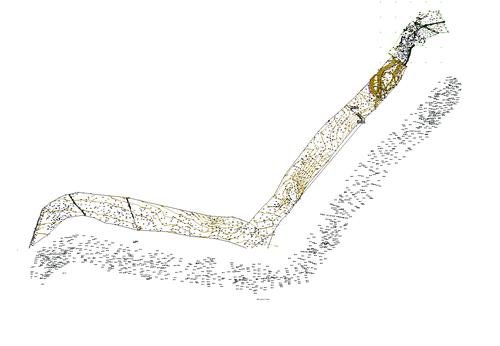Рис.11. Цифровая модель местности