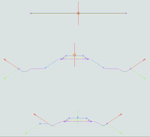 Рис. 18.а. Шаблоны конструкций для создания коридора