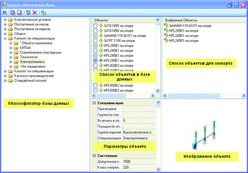 Рис. 9. Менеджер библиотеки на сервере обновлений компании CSoft Development