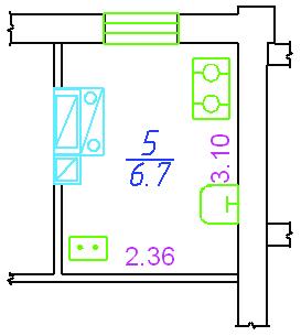 Рис.8. Внешний вид комнаты