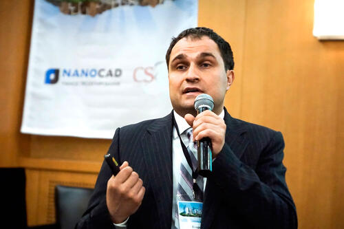 Приветственное слово генерального директора ЗАО «Нанософт» Максима Егорова