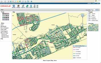 Рис. 7. Поэтажный план, диаграмма распределения тепла и табличный отчет