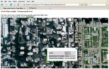 Рис. 11. Использование высокоточных снимков DigitalGlobe в качестве базовой карты