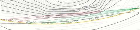 Линии прямой видимости между точками