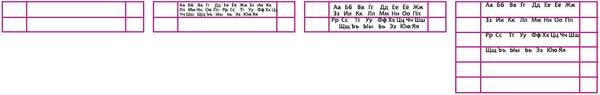 Рис. 13. Текст в ячейках nanoCAD