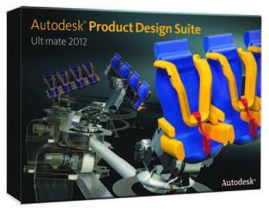 Рис. 1. Комплект Autodesk Product Design Suite Ultimate