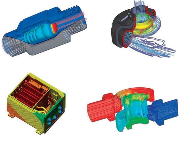 Применение Autodesk Simulation CFD: расчет обратного клапана, анализ охлаждения электронного модуля, расчет центробежного насоса, гидравлический расчет регулирующего клапана