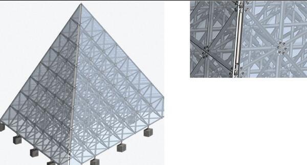 Рис. 8. Полученная пирамида