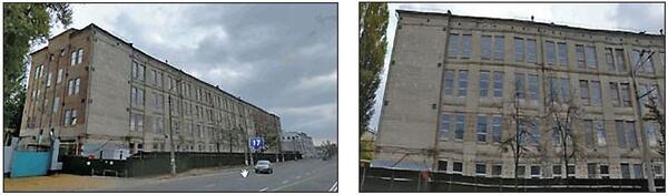 Рис. 1. Общий вид здания до надстройки дополнительных этажей