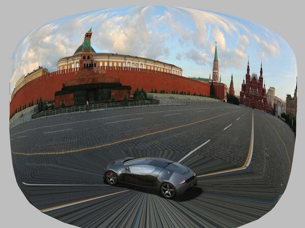 Рис. 5. Пользовательское окружение, основанное на панорамном изображении