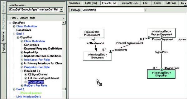 Создание и определение взаимосвязей между объектами при помощи технологии drag&drop