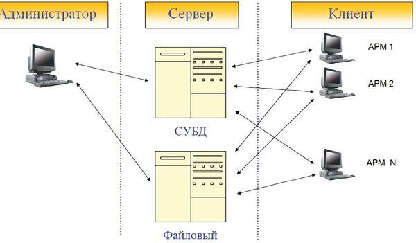 Рис. 1. Организационная структура
