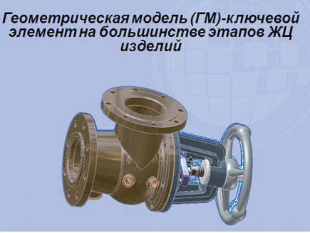 Рис. 2. 3D&модель на одном из этапов ЖЦ изделия