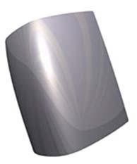 Рис. 6. Блик на модели с G2-непрерывностью