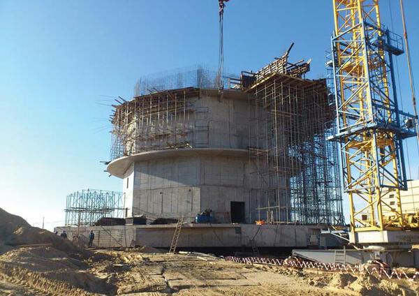 Этап строительных работ (3 октября 2012 г.)