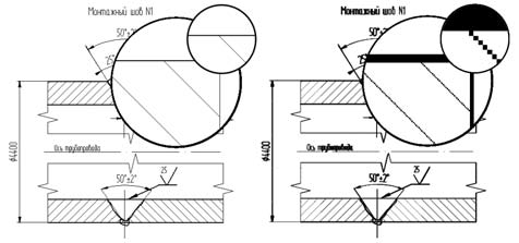 Рис. 1. Растровое (справа) и векторное изображение