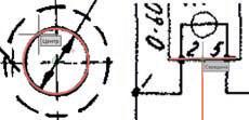 Рис. 9. Работая над растровым чертежом, nanoCAD проводит векторизацию документа на лету, что позволяет использовать растровые и векторные привязки