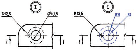 Рис. 10. Технологии работы с растровым изображением позволяют работать в среде nanoCAD с гибридными чертежами, содержащими как вектор, так и растр