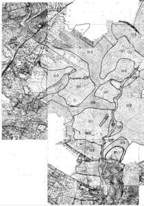 Исходный топографический план на бумажном носителе