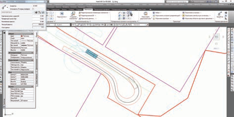 Анализ траектории движения в плане на площадке