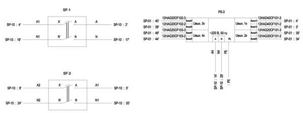 Рис. 2. Фрагмент документа Схема электрическая монтажных соединений