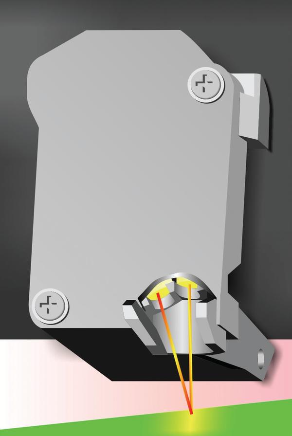 Рис. 3. Оптический датчик OPOS X