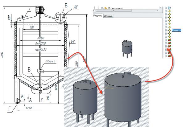 Рис. 1. Ввод оборудования в базу данных