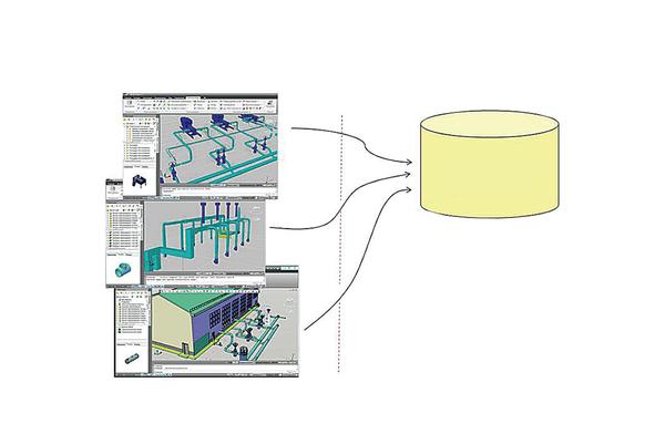 Рис. 5. Комплексная база данных проекта на базе CADLib Модель и Архив