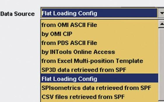 Рис. 8. Получение исходной информации для SP Materials
