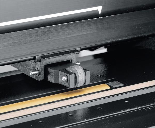 Вал из бронзы с запатентованной поверхностью MicroSprocket для высокоточной протяжки материала