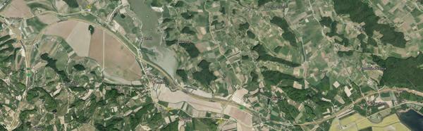 Траектория трассы автострады Марибор - Ленарт