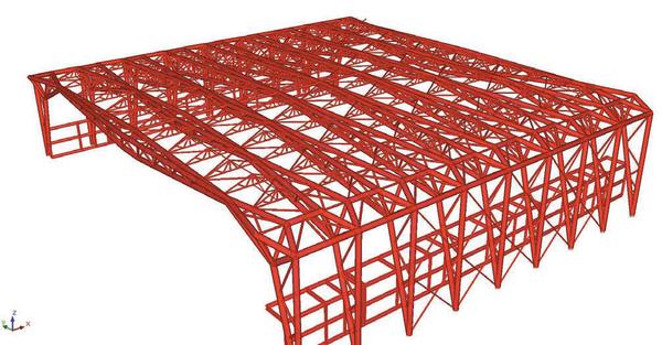 Рис. 4. Фрагмент II варианта конструктивной схемы