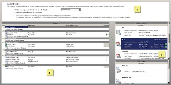 Рис. 6. Настройки проверки, выпуска документации и файлов для производства
