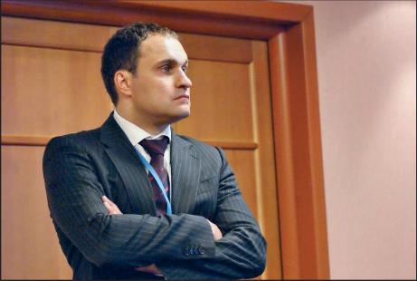 Максим Егоров, генеральный директор компании Нанософт(фото Н. Кушниренко)