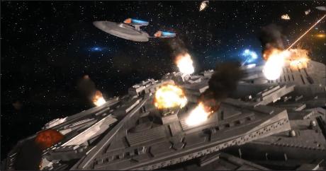 «Кроссовер между вселенными Star Trek и Battlestar Galactica», автор Андрей Гаврилов